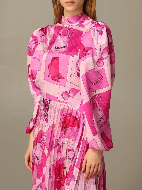 Dress Balenciaga: Dress women Balenciaga pink 3