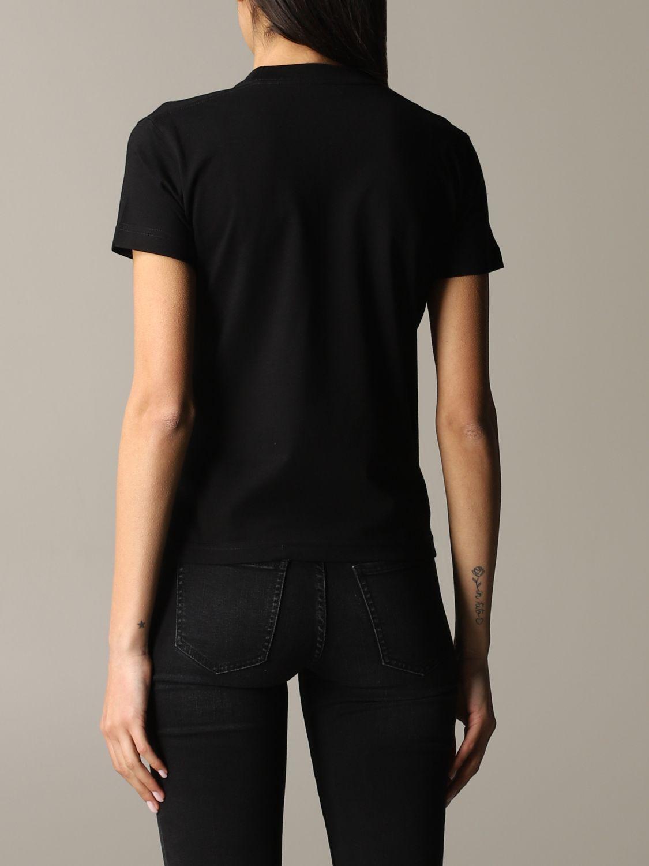 Balenciaga logoT恤 黑色 3