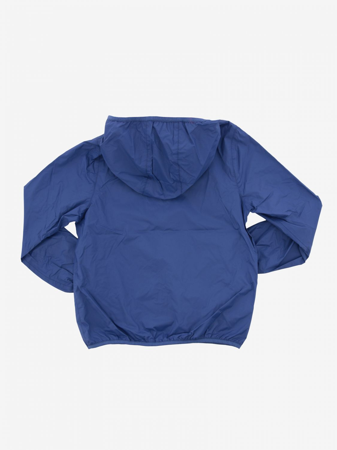 Jacques K-way reversible jacket with hood blue 2