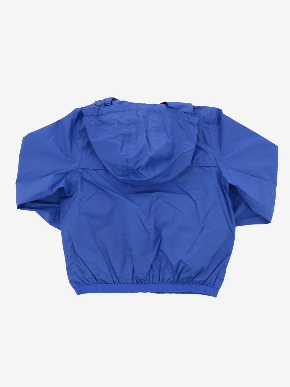 Blouson Claudine K-way avec capuche bleu royal 2