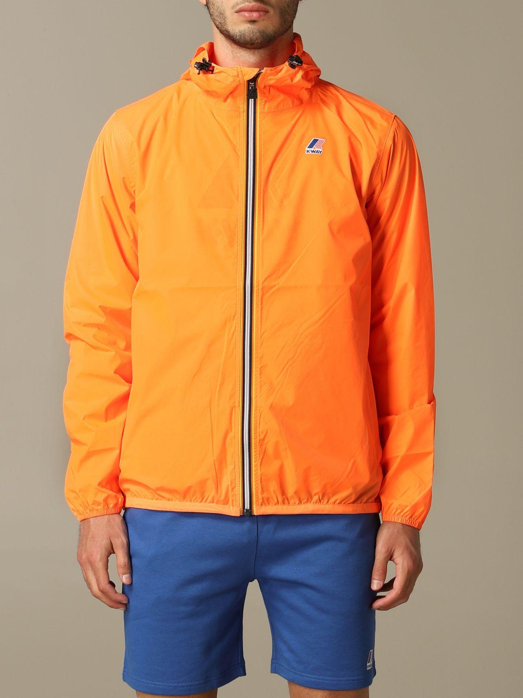 Jacke K-Way: Jacke herren K-way orange 1