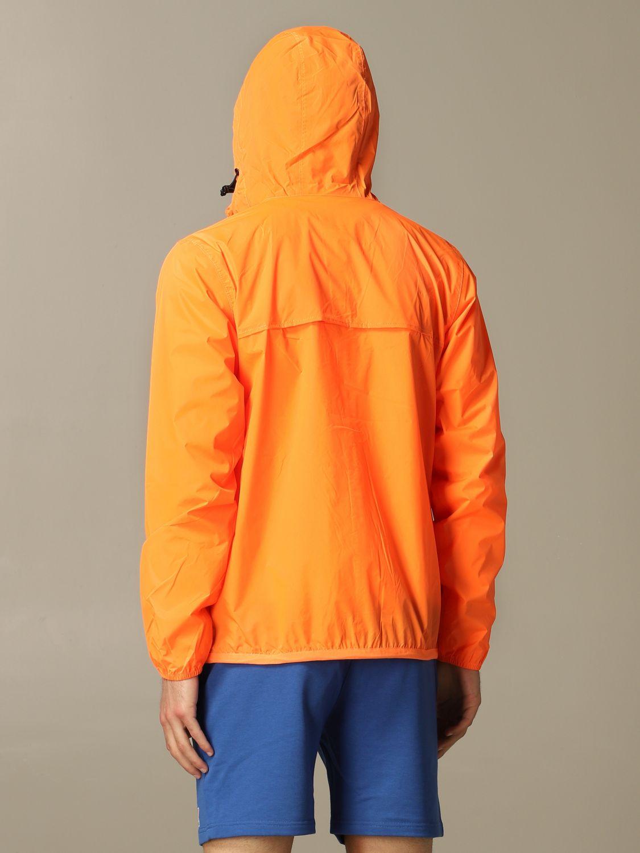 Jacke K-Way: Jacke herren K-way orange 2