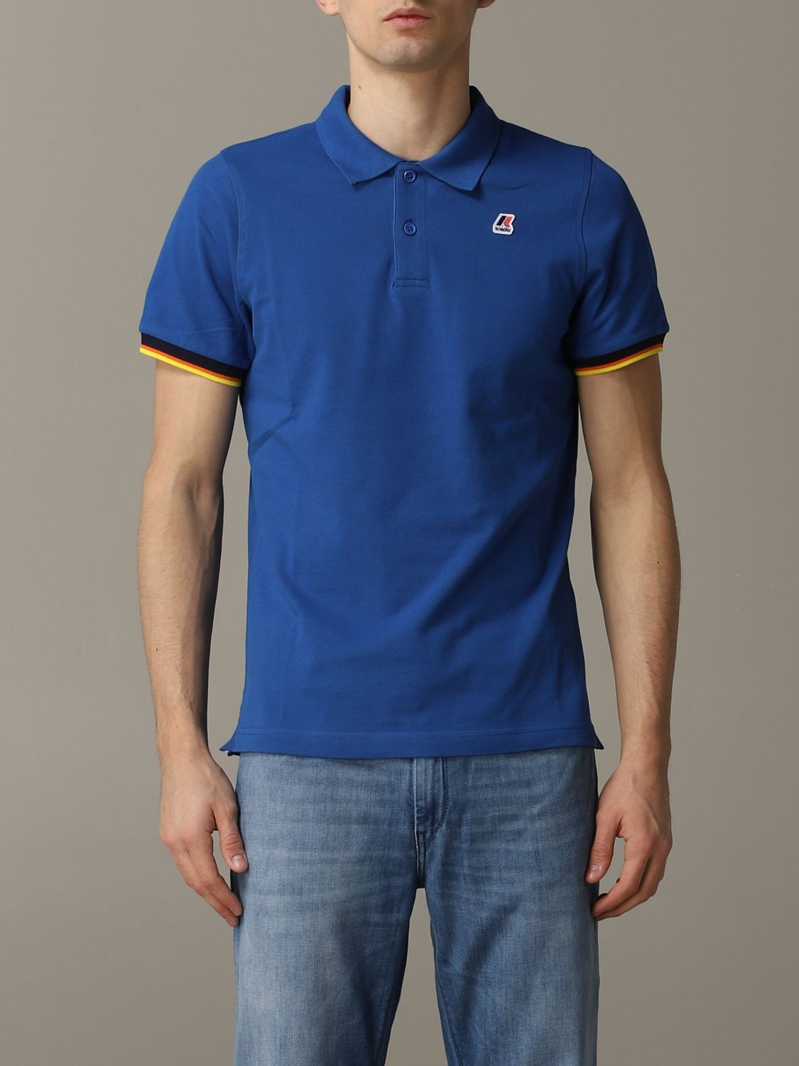 Polo herren K-way royal blue 1