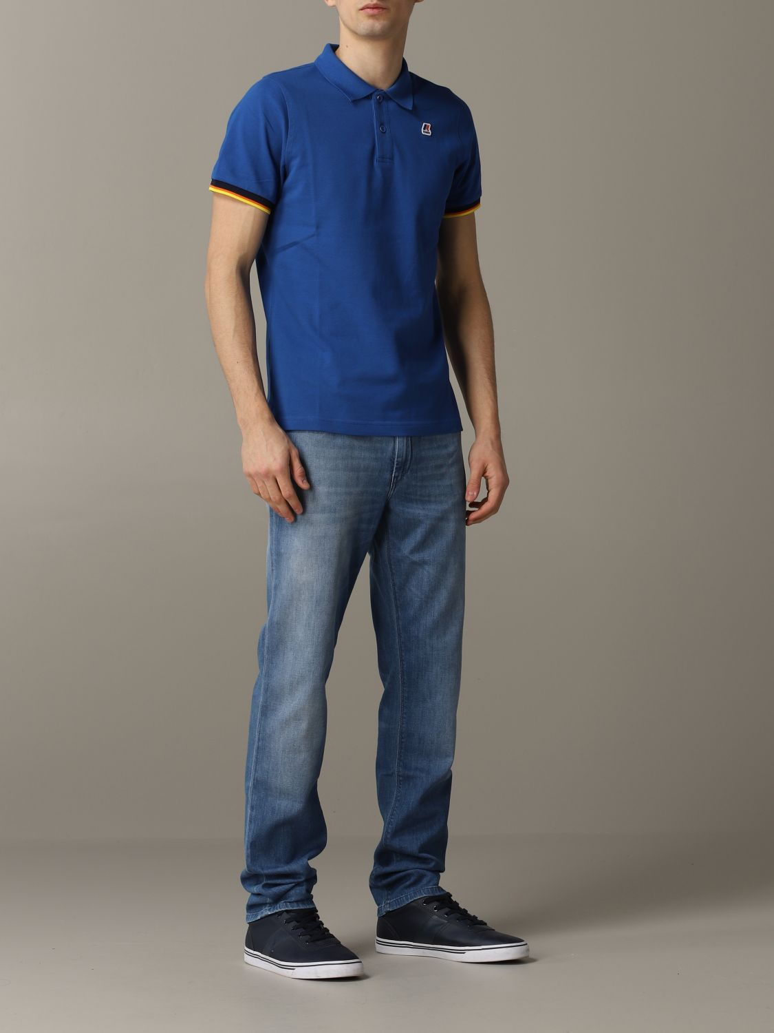 Polo herren K-way royal blue 2