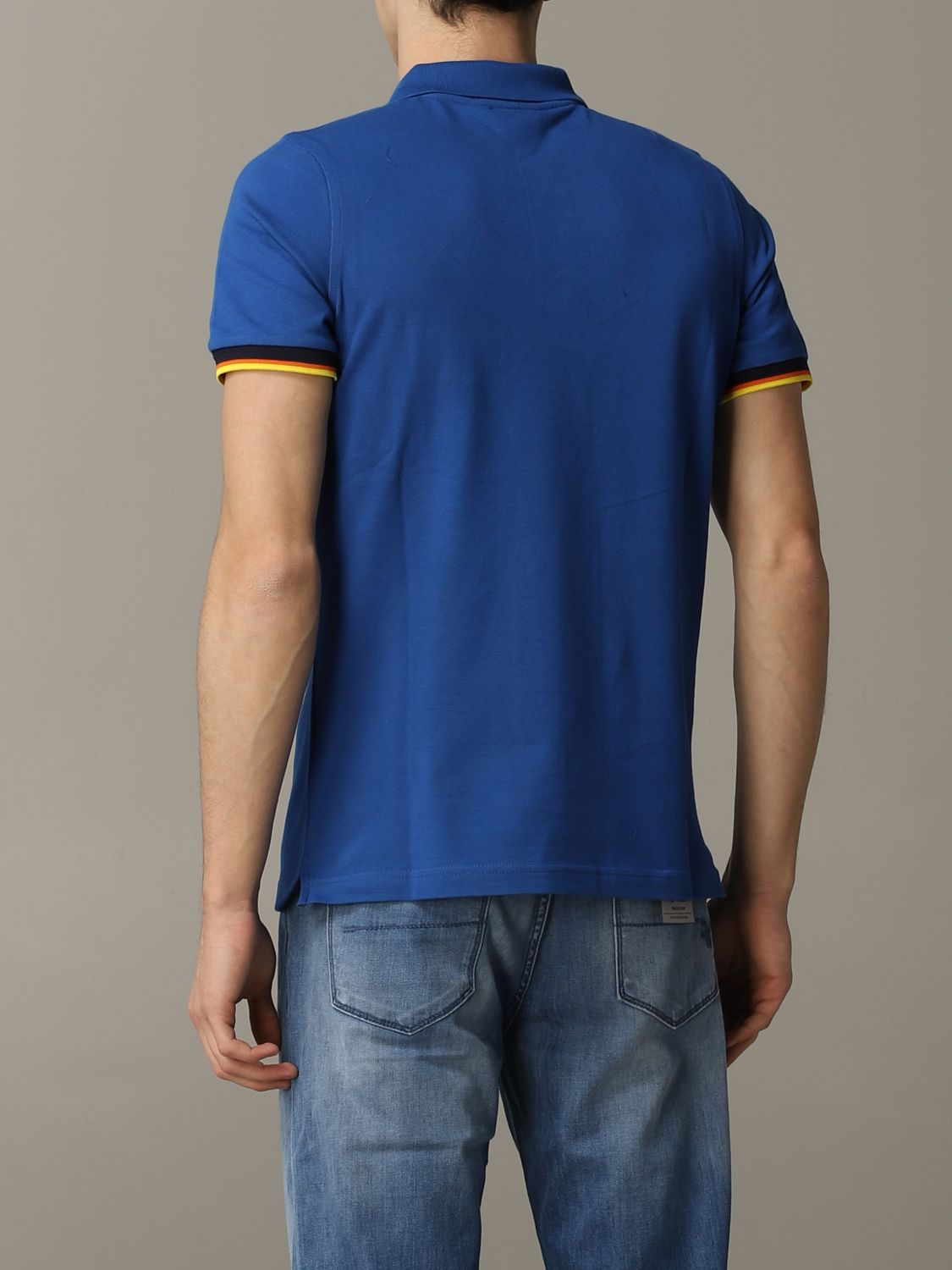 Polo herren K-way royal blue 3