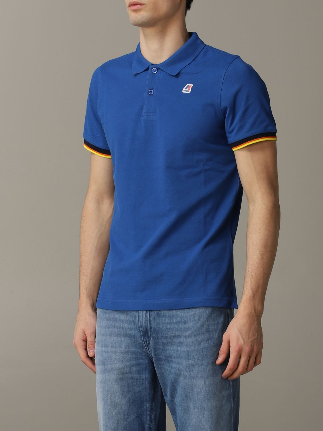 Polo herren K-way royal blue 4