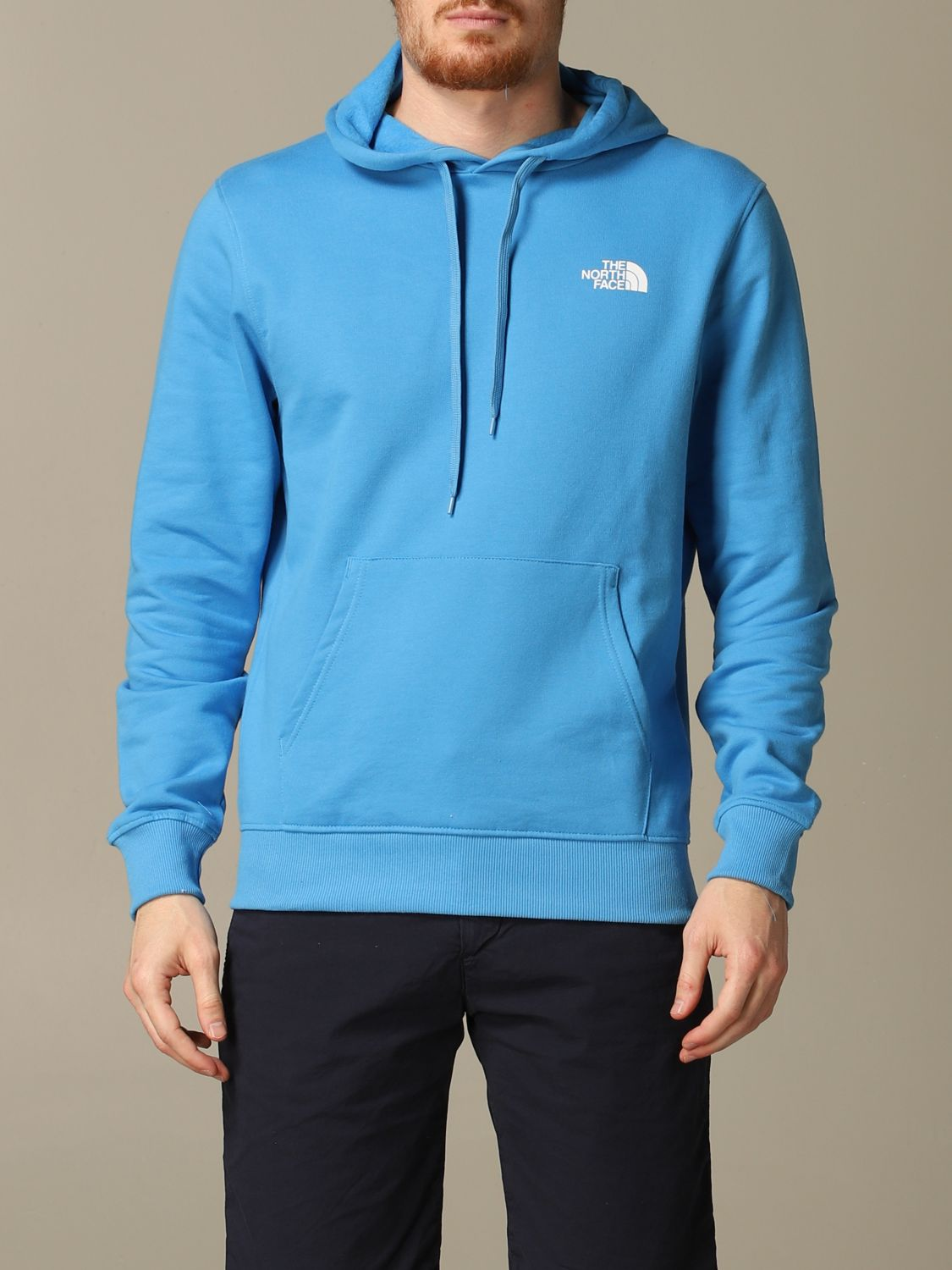 Sweatshirt The North Face: Sweatshirt men The North Face gnawed blue 1