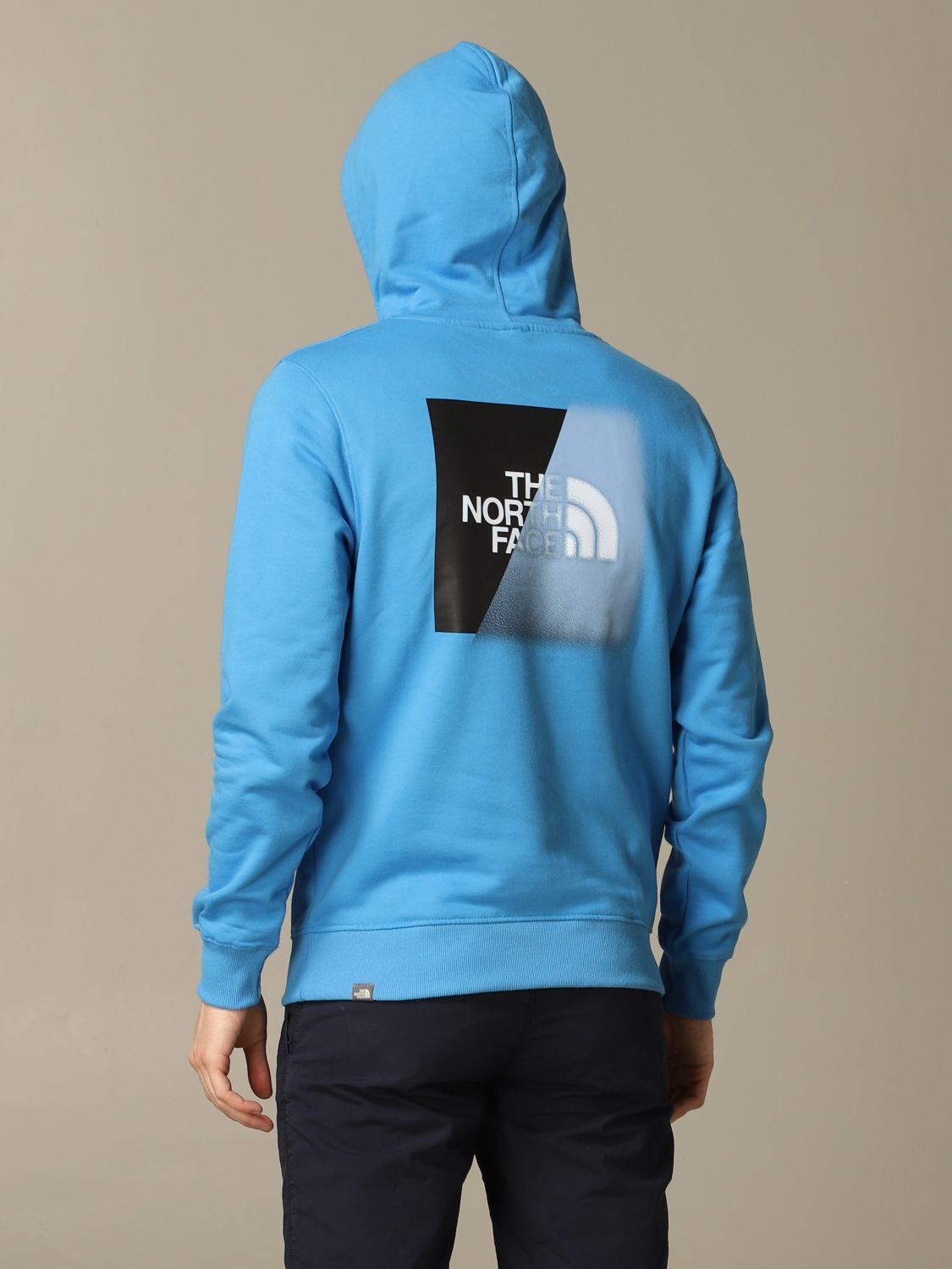 Sweatshirt The North Face: Sweatshirt men The North Face gnawed blue 2