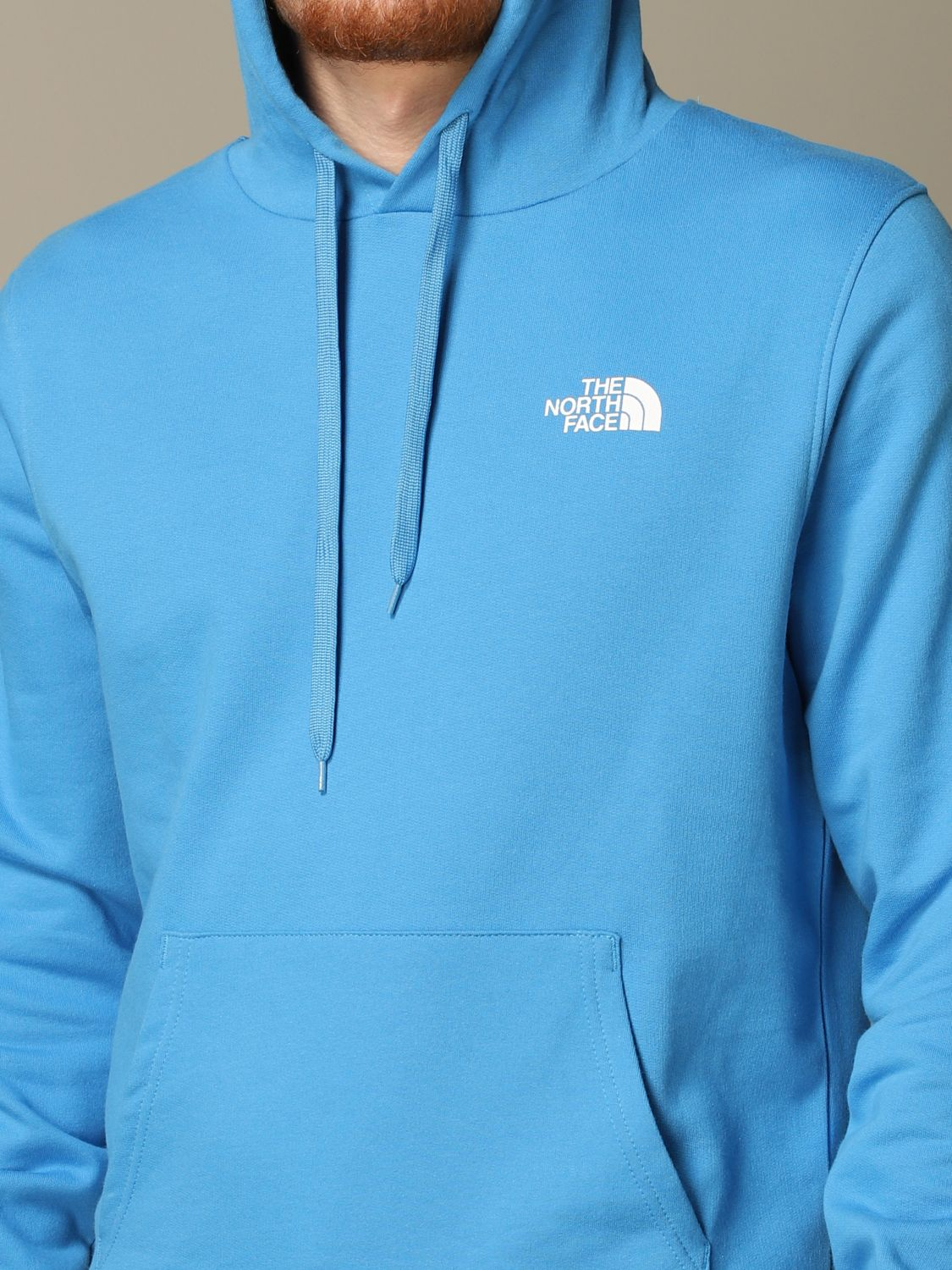 Sweatshirt The North Face: Sweatshirt men The North Face gnawed blue 3
