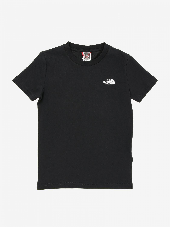 T-shirt The North Face con stampa logo nero 1