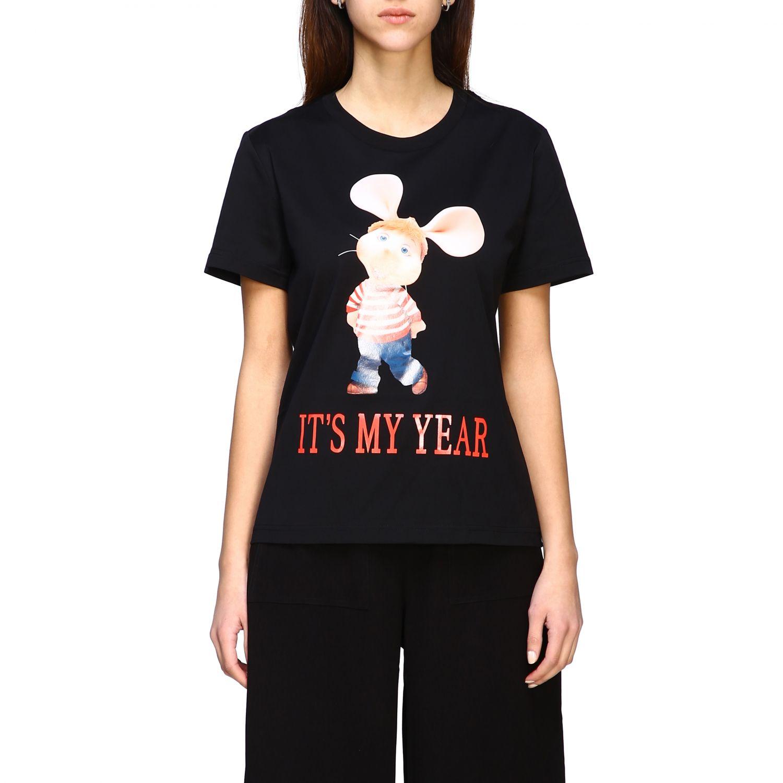 T-Shirt Alberta Ferretti: T-shirt women Alberta Ferretti black 1