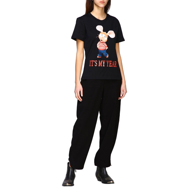 T-Shirt Alberta Ferretti: T-shirt women Alberta Ferretti black 2