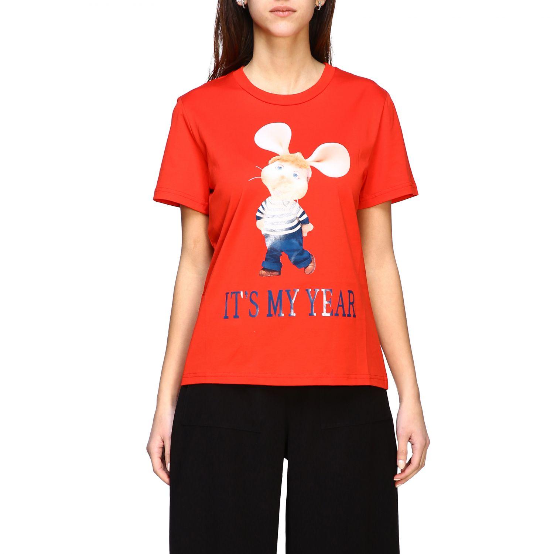 T-shirt Alberta Ferretti: T-shirt à manches courtes Alberta Ferretti avec imprimé