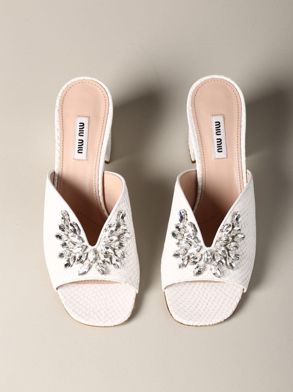 Shoes women Miu Miu white 3