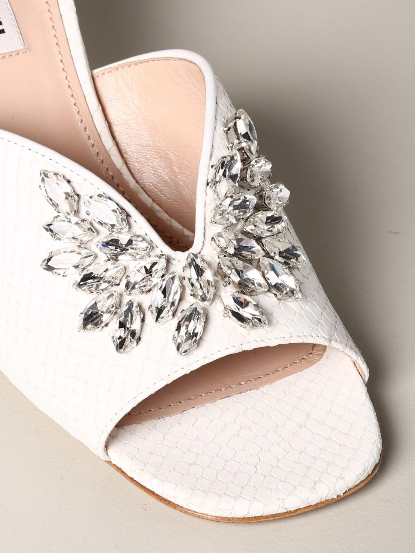 Shoes women Miu Miu white 4