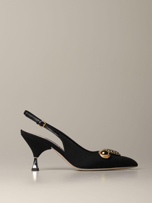 鞋 女士 Miu Miu 黑色 1