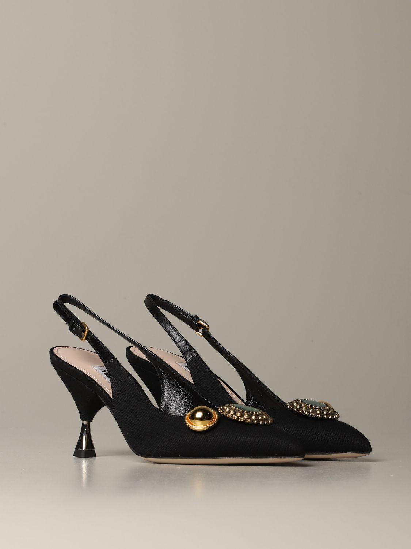 鞋 女士 Miu Miu 黑色 2