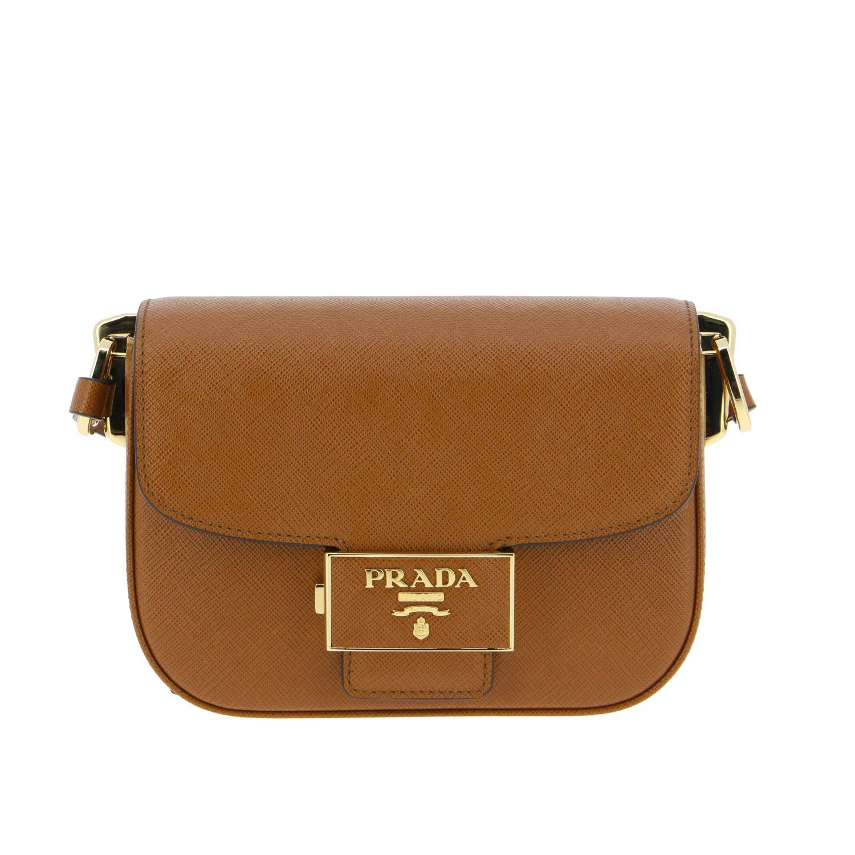 Shoulder bag women Prada leather 1