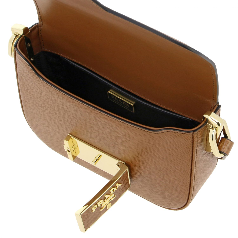 Shoulder bag women Prada leather 5