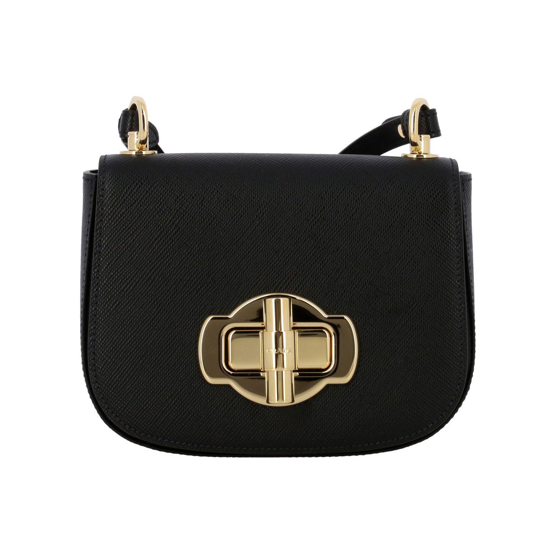 Shoulder bag women Prada black 1