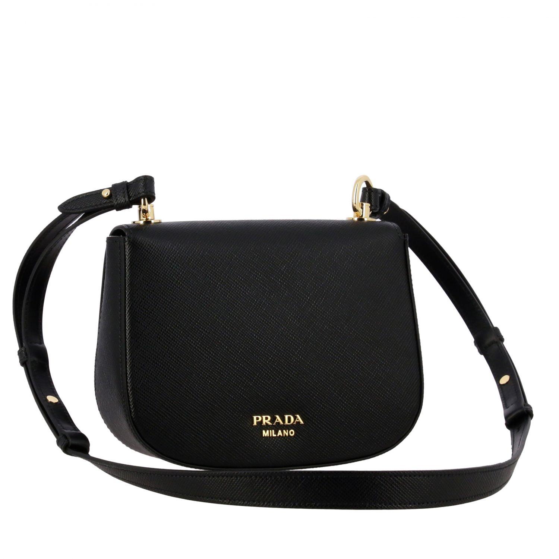 Shoulder bag women Prada black 3