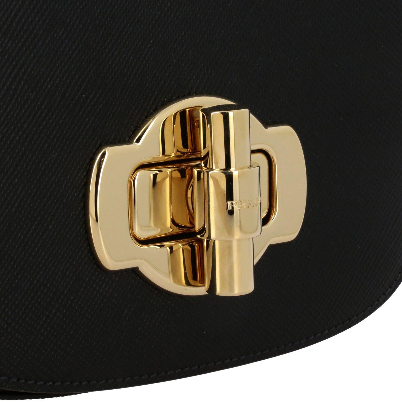 Shoulder bag women Prada black 4