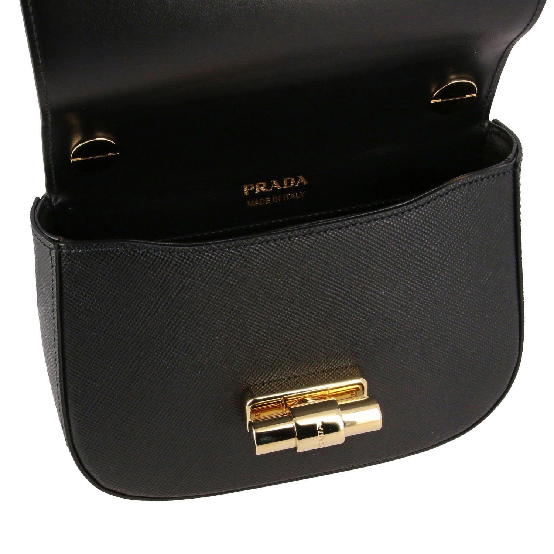 Shoulder bag women Prada black 5
