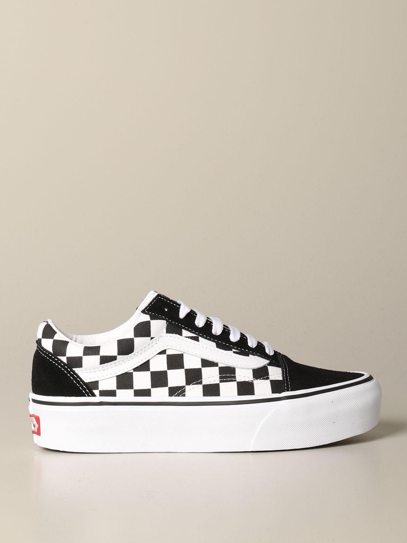 chaussure femme vans blanche
