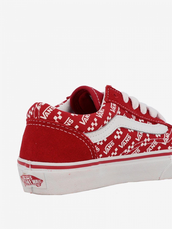 chaussures vans rouges