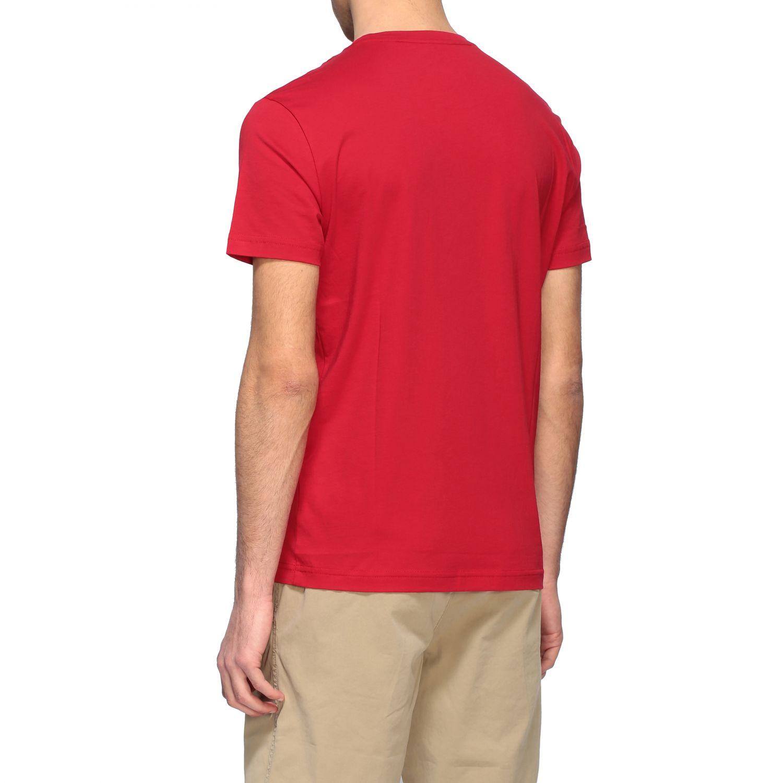 T-shirt Ea7: T-shirt men Ea7 red 3