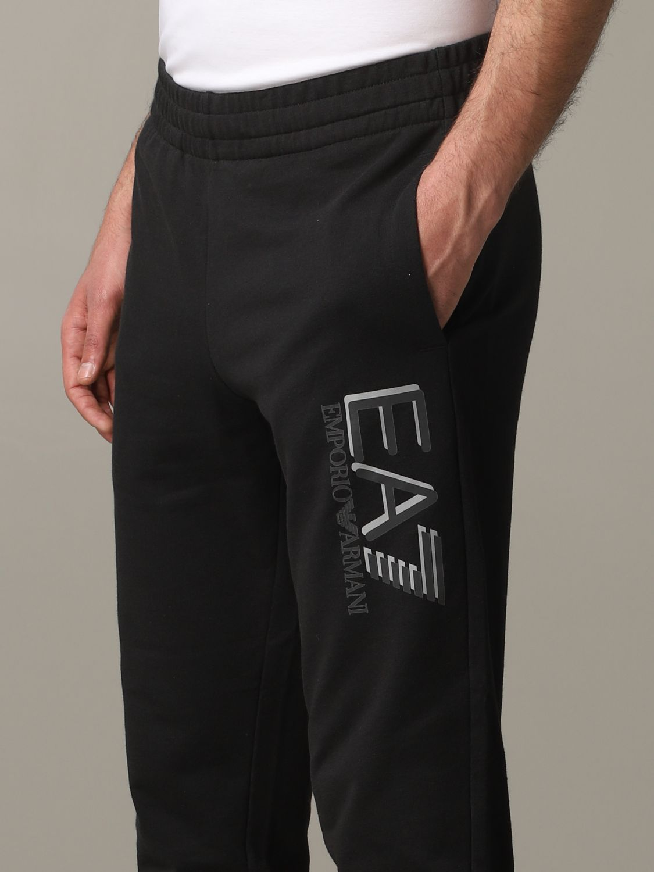 运动服 Ea7: 裤子 男士 Ea7 黑色 4