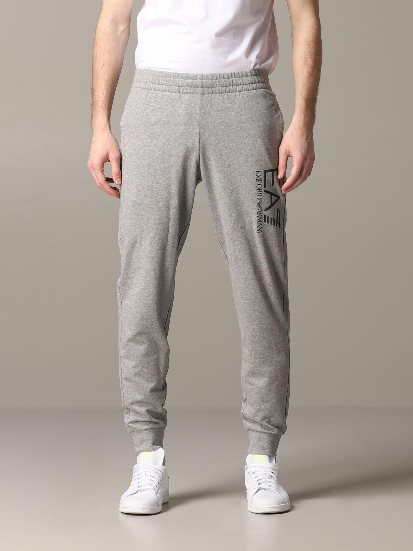 Pantalon homme Ea7 gris 1