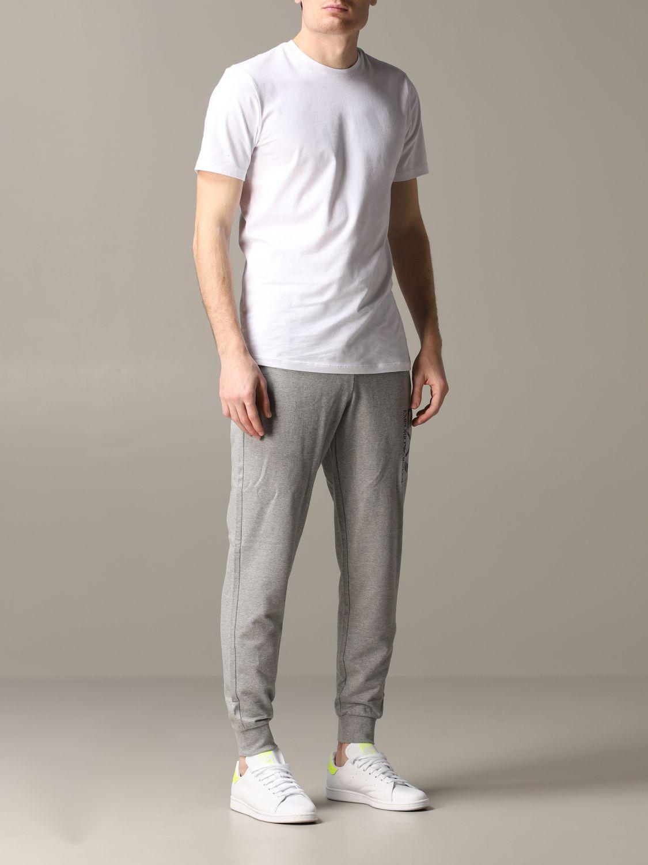 Pantalon homme Ea7 gris 2