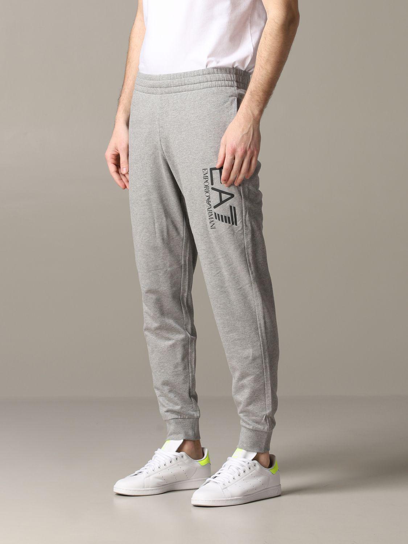 Pantalon homme Ea7 gris 4