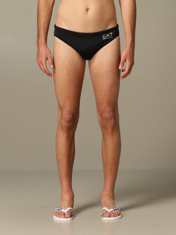 Bademode Ea7 Swimwear: Bademode herren Ea7 Swimwear weiß 1