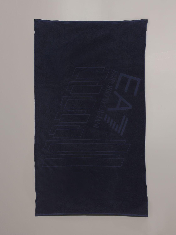 浴巾 Ea7 Swimwear: 浴巾 男士 Ea7 Swimwear 蓝色 1