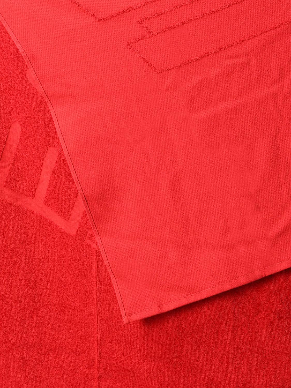 浴巾 Ea7 Swimwear: 浴巾 男士 Ea7 Swimwear 红色 2