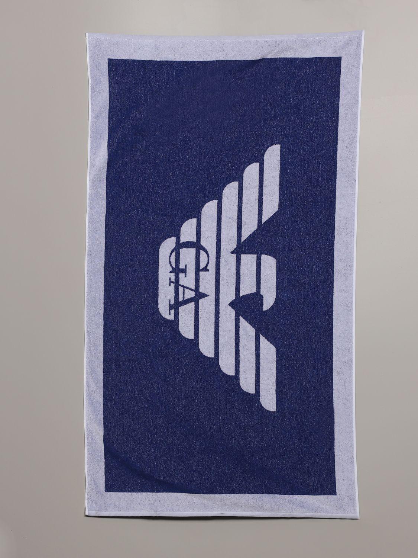浴巾 E.armani Swimwear 66: 浴巾 男士 E.armani Swimwear 皇家蓝 1