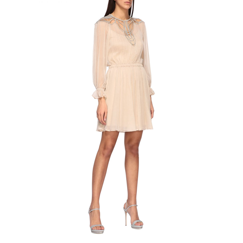 Платье Alberta Ferretti: Платье Женское Alberta Ferretti песочный 1