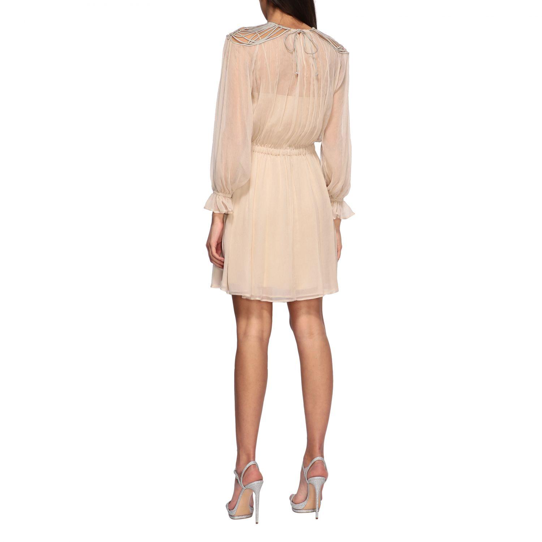 Платье Alberta Ferretti: Платье Женское Alberta Ferretti песочный 2