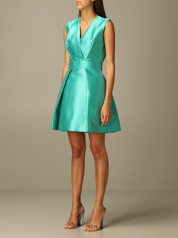 Dress Alberta Ferretti: Alberta Ferretti full dress green 3