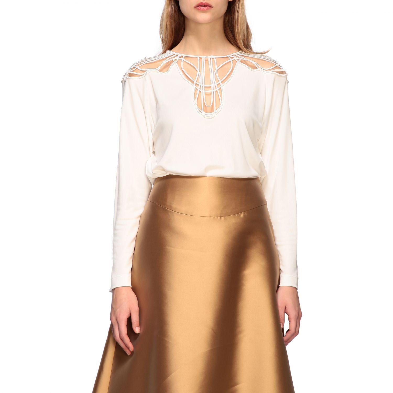 Рубашка Alberta Ferretti: Блузка Женское Alberta Ferretti белый 1