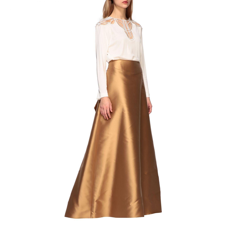 Рубашка Alberta Ferretti: Блузка Женское Alberta Ferretti белый 2