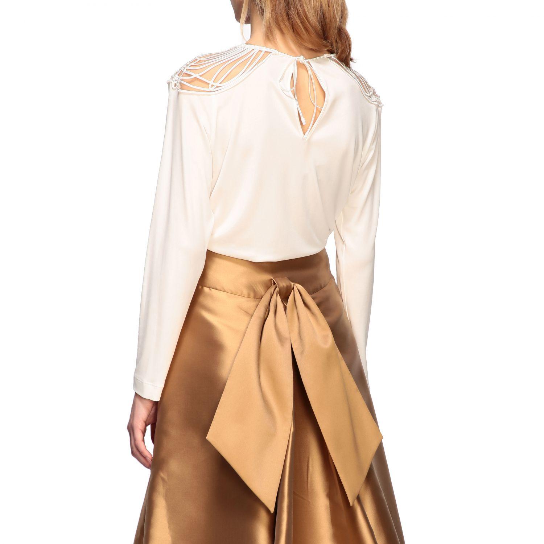 Рубашка Alberta Ferretti: Блузка Женское Alberta Ferretti белый 3