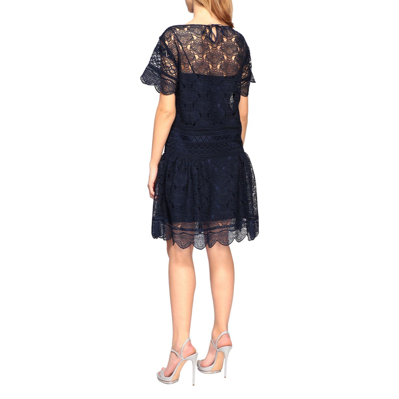 Vestido Alberta Ferretti: Vestido mujer Alberta Ferretti negro 2
