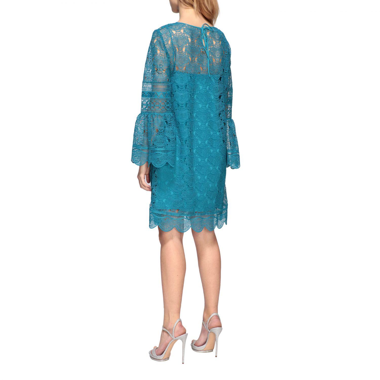 Dress women Alberta Ferretti turquoise 2