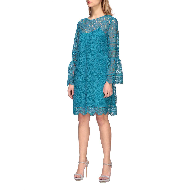 Dress women Alberta Ferretti turquoise 3
