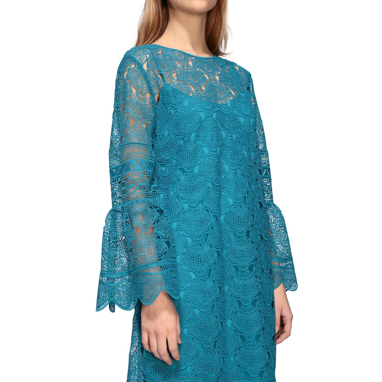 Dress women Alberta Ferretti turquoise 4