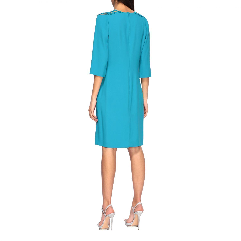Vestido Alberta Ferretti: Vestido mujer Alberta Ferretti azul oscuro 2