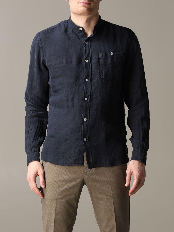 Shirt Woolrich: Shirt men Woolrich blue 1